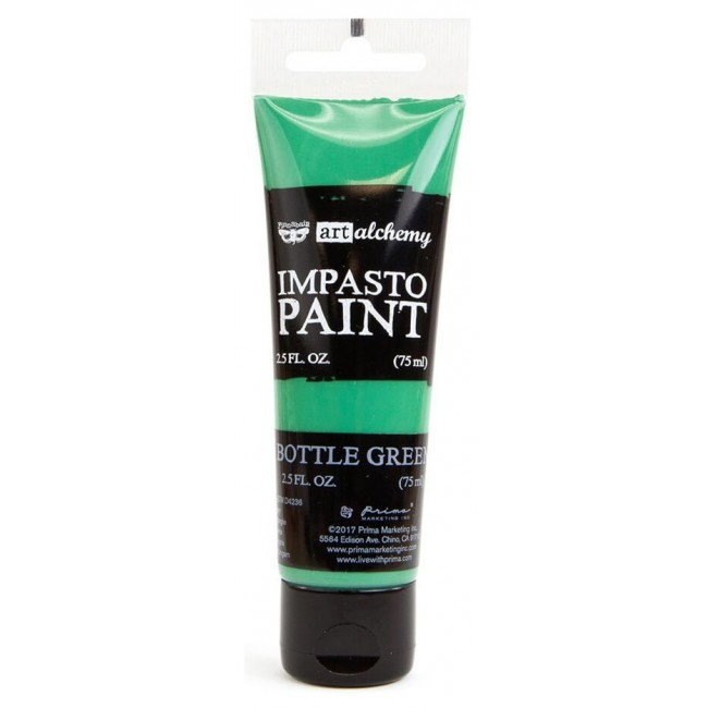 Pintura acrílica Impasto   Bottle Green