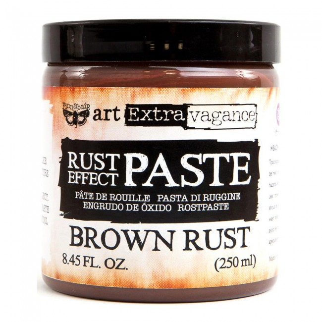 Pasta de Textura Rust Effect - Brown