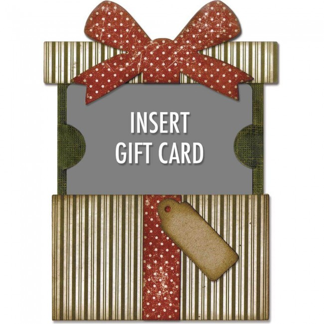 Troquel Thinlits Gift Card Package
