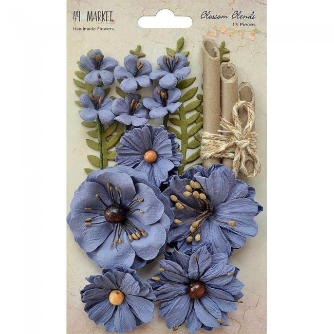 Flores de papel Blends - Bluebell