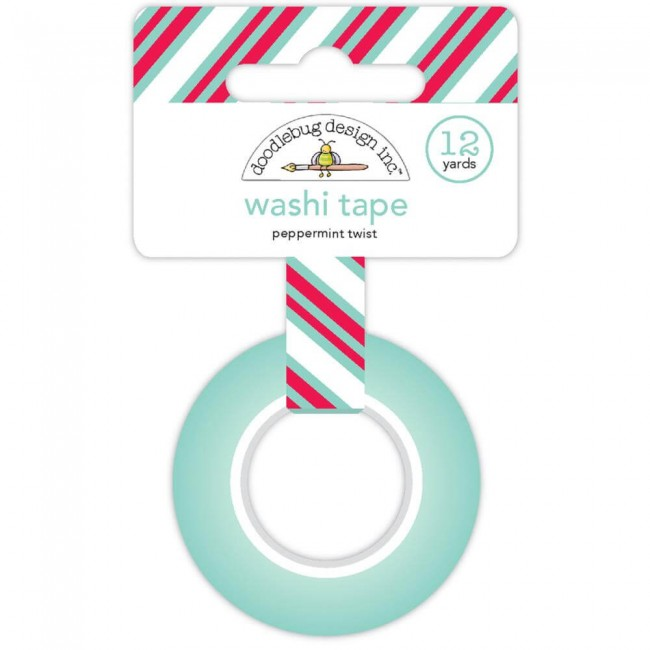 Washi Tape Milk & Cookies - Peppermint Twist