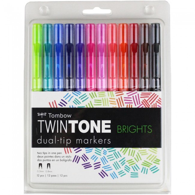 Set Rotuladores Twintone   Brights