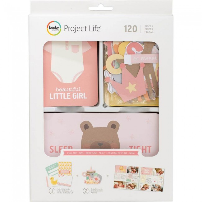 Tarjetas y Die Cuts Value Kit Lullaby Girl