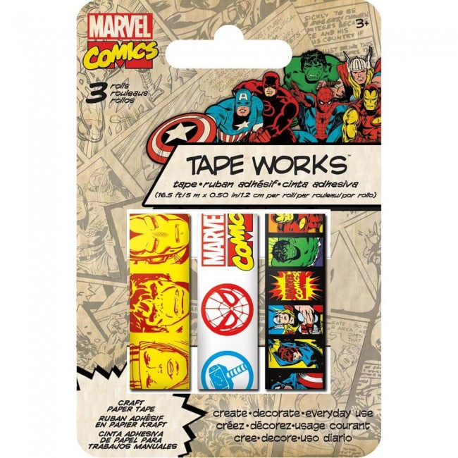 Set Washi Tape Marvel