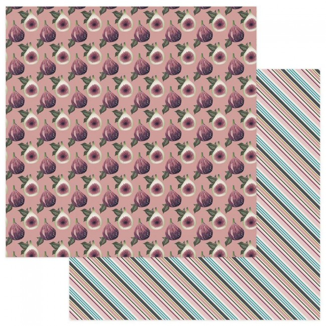 Papel Estampado Doble Cara 12x12 - Gypsy Rose - Be Inspiring