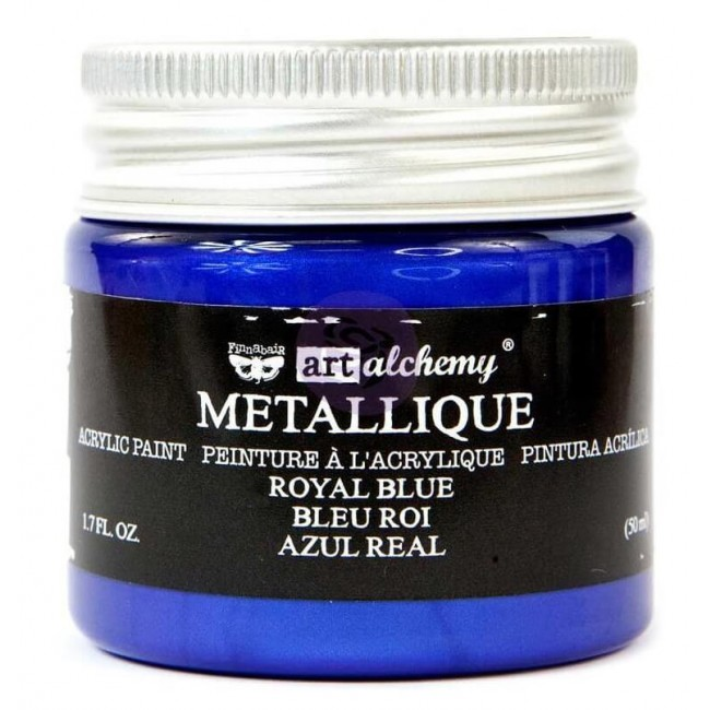 Pintura Acrílica Art Alchemy - Metallique Royal Blue