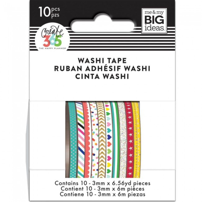 Washi Tape Create 365 - Brights