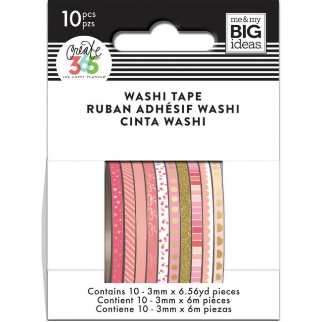 Washi Tape Create 365 - Pink Hues