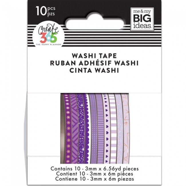 Washi Tape Create 365 - Purple Hues
