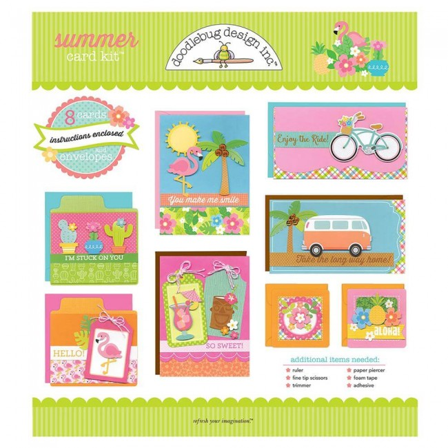 Tarjetas y sobres Sweet Summer Kit