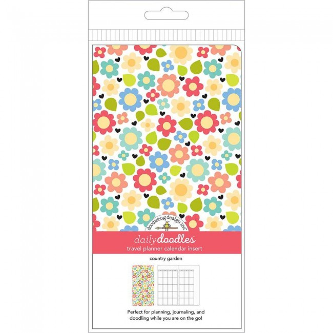 Cuaderno para Traveler's Notebok Country Garden Daily Doodles Calendario