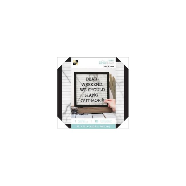 Letterboard White marble