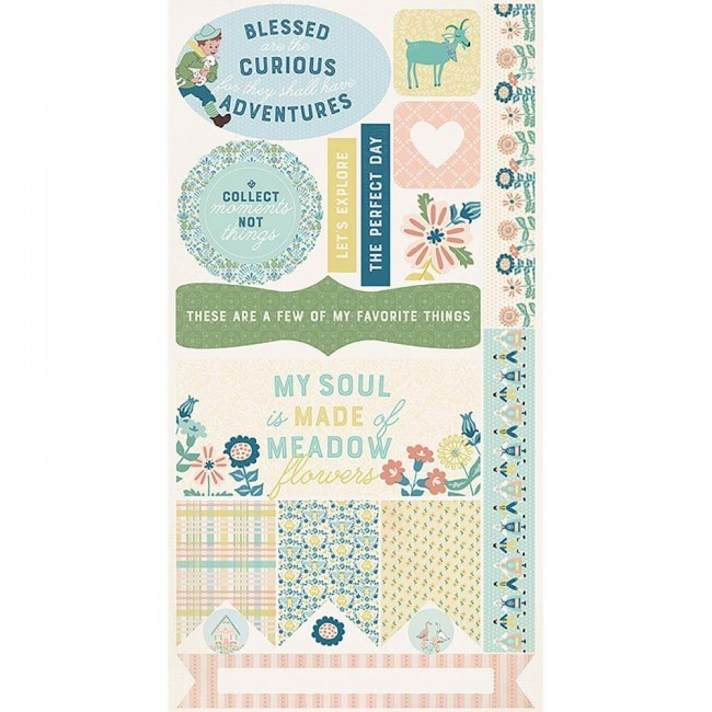 Die Cuts Meadow Accents