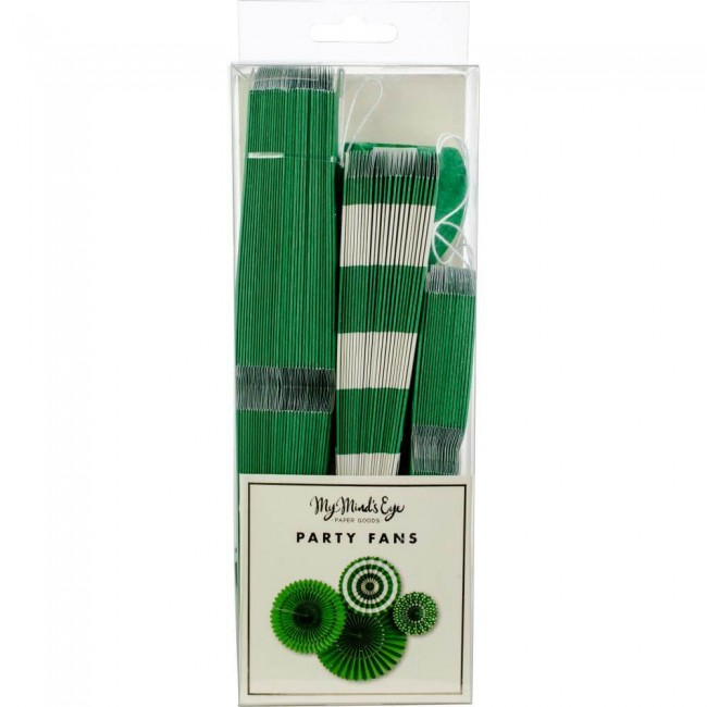 Set Rosetones de papel Green