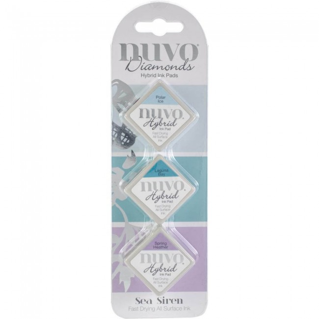 Nuvo Diamonds Hybrid Ink Sea Siren