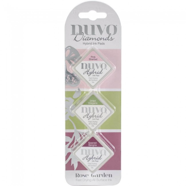 Nuvo Diamonds Hybrid Ink Rose Garden