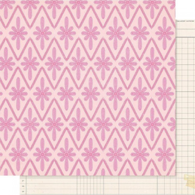 Papel Estampado Doble Cara 12x12 Maggie Holmes Willow Lane Adore