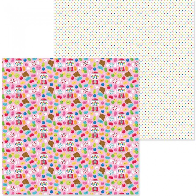 Papel Estampado Doble Cara 12x12 So Much Pun Sweet Stuff