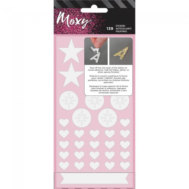 Pegatinas Moxy Foam Stickers