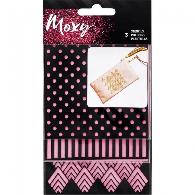 Set Mini Stencil Moxy Square