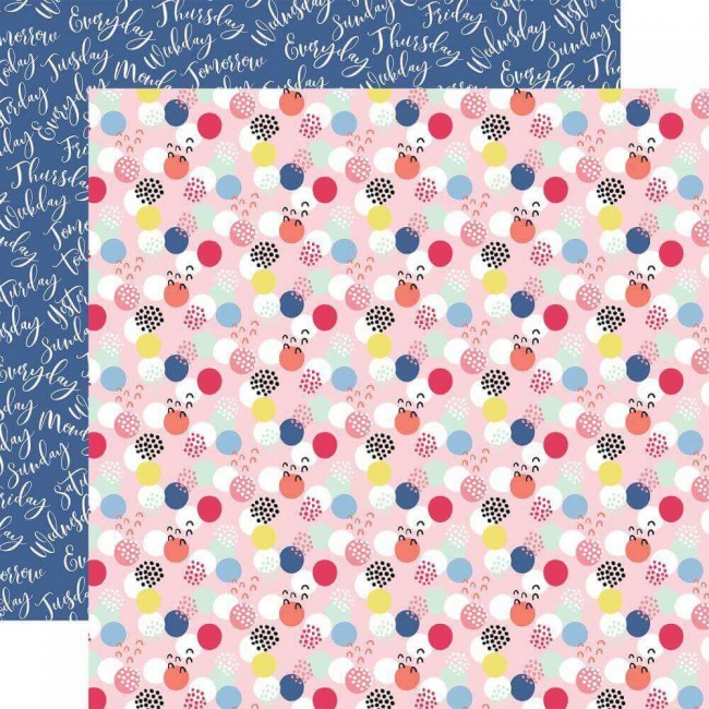 Papel Estampado Doble Cara 12x12 I Am Mom Mom Boss