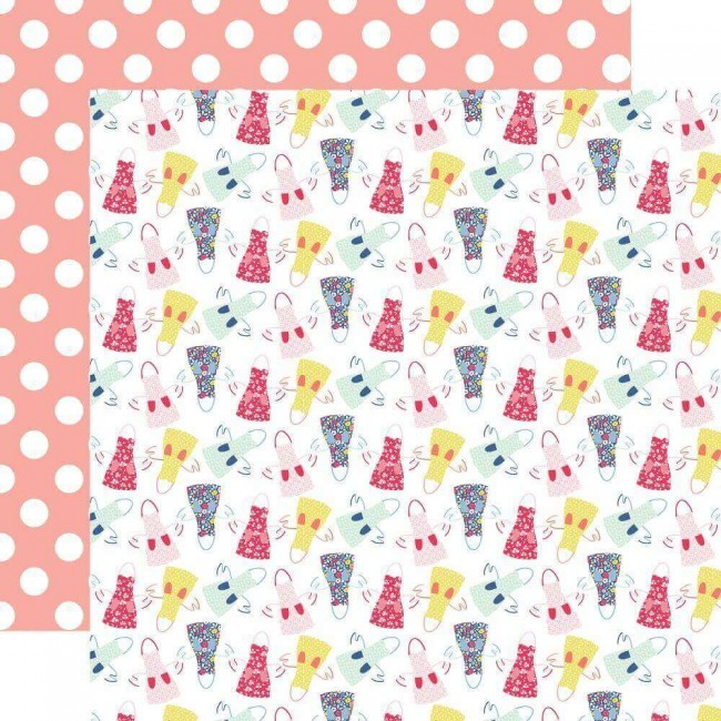 Papel Estampado Doble Cara 12x12 I Am Mom In The Kitchen