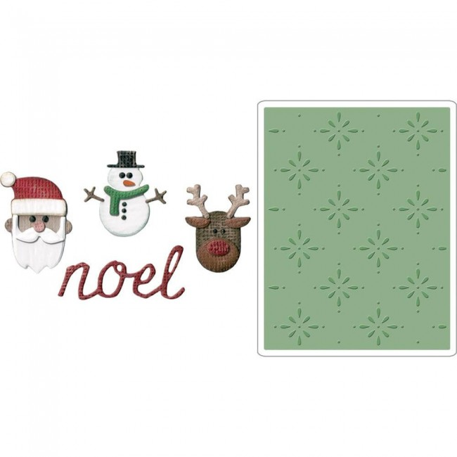 Troquel Sidekick Side-Order Christmas Tim Holtz