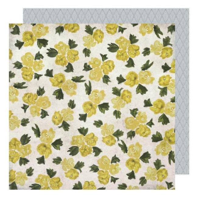 Papel Estampado Doble Cara 12x12 Emerson Lane Emery
