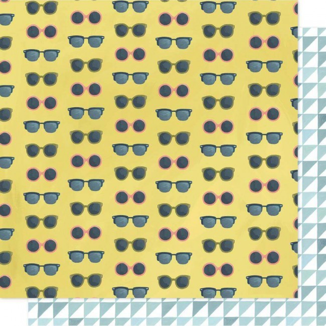 Papel Estampado Doble Cara 12x12 Goldenrod Sunnies