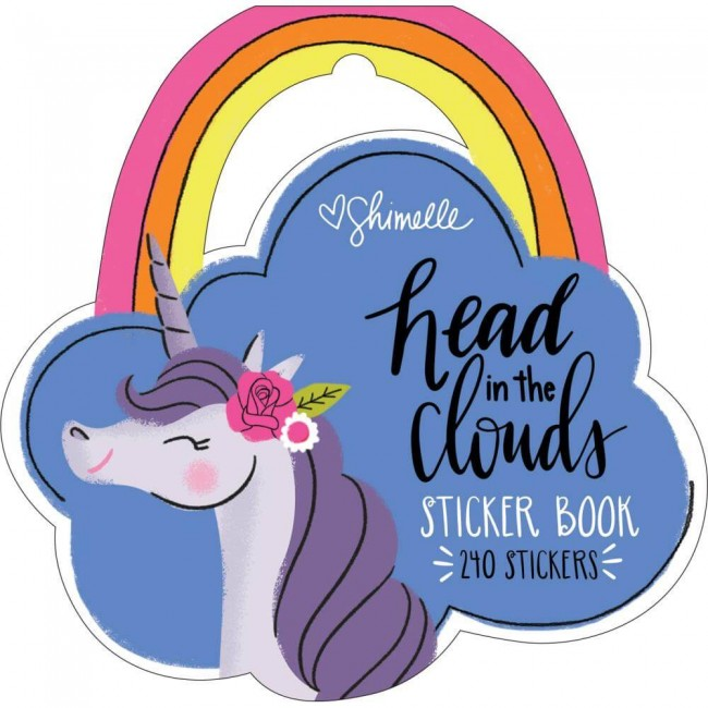 Librillo de pegatinas Head In The Clouds