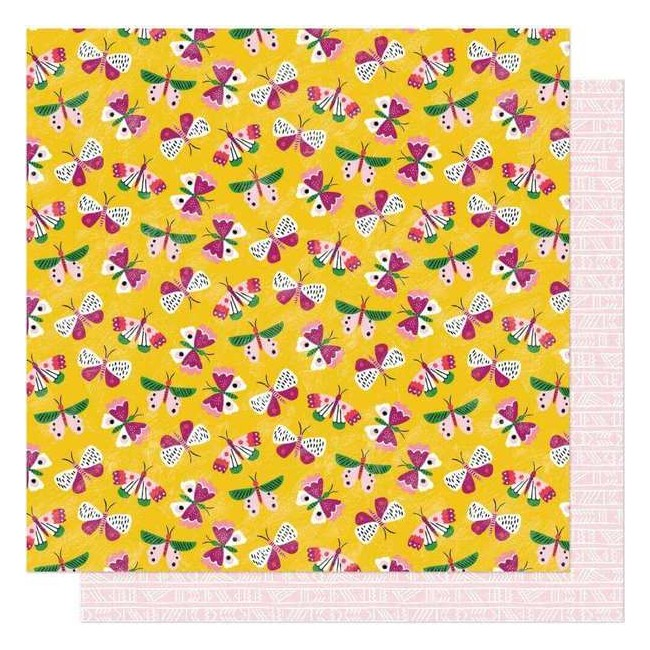 Papel Estampado Doble Cara 12x12 New Day Celebrate Life