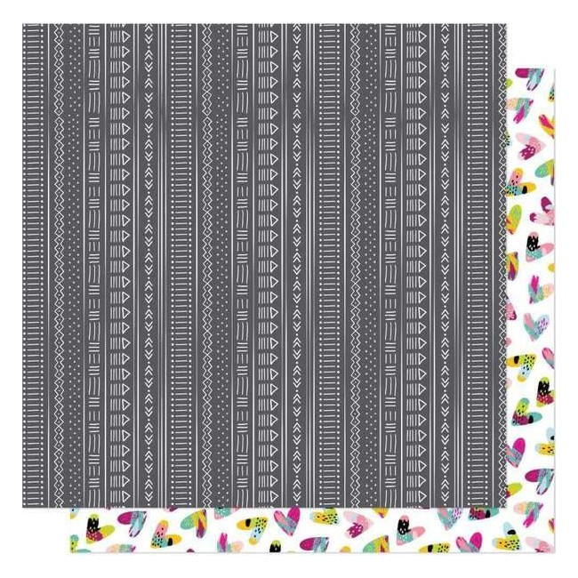 Papel Estampado Doble Cara 12x12 New Day Come Alive