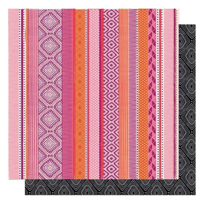 Papel Estampado Doble Cara 12x12 New Day Big Love