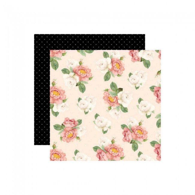 Papel Estampado Doble Cara 12x12 Love Is In The Air Sweet Fragrance