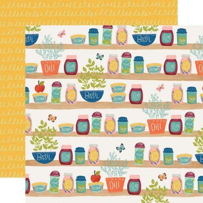 Papel Estampado Doble Cara 12x12 Our House Spice Of Life