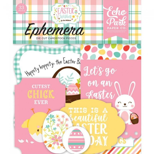 Die Cuts Easter Wishes Icons