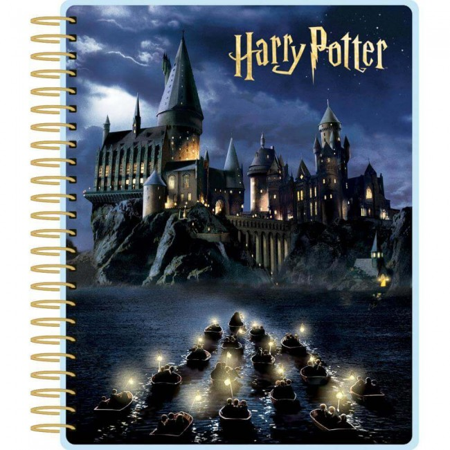 Kit Agenda Harry Potter Hogwarts At Night (Perpetuo 12 meses)