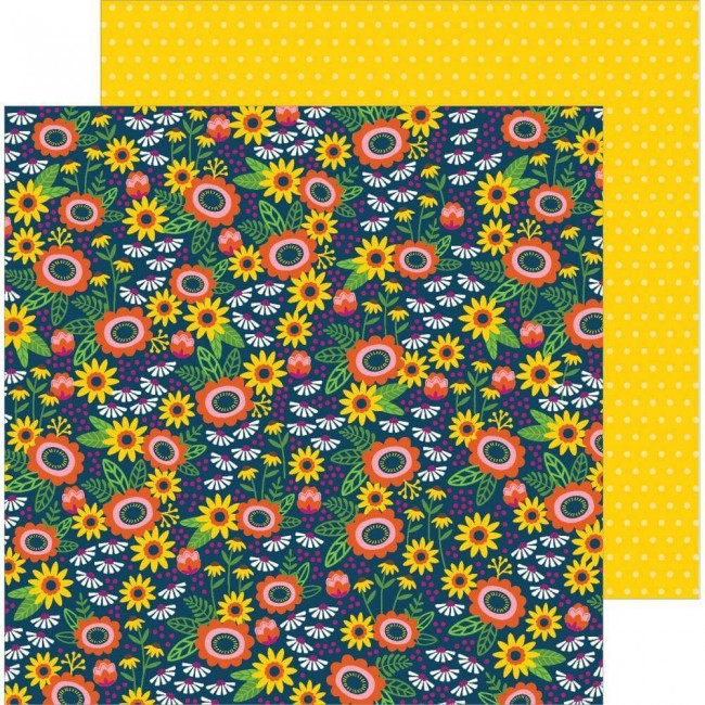 Papel Estampado Doble Cara 12x12 Chasing Adventures Savanna