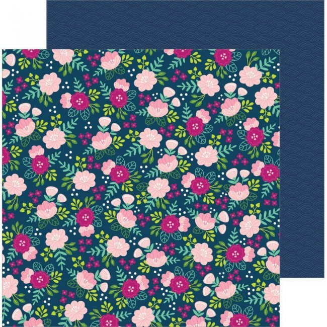 Papel Estampado Doble Cara 12x12 Chasing Adventures Asian Garden