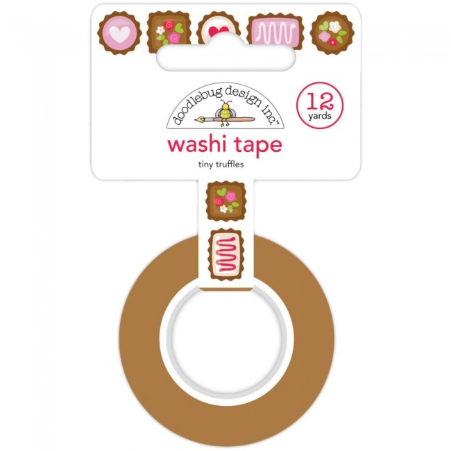 Washi Tape French Kiss Tiny Truffles