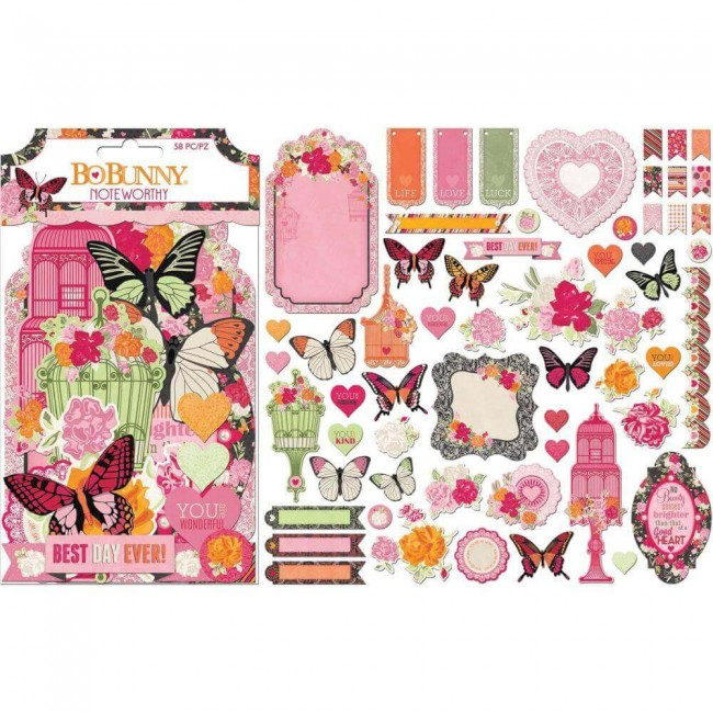 Die Cuts Sweet Clementine Noteworthy