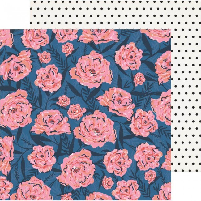Papel Estampado Doble Cara 12x12 All Heart Wallflower