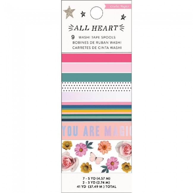 Set de Washi Tape All Heart