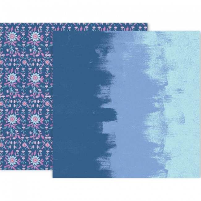 Papel Estampado Doble Cara 12x12 Horizon #6
