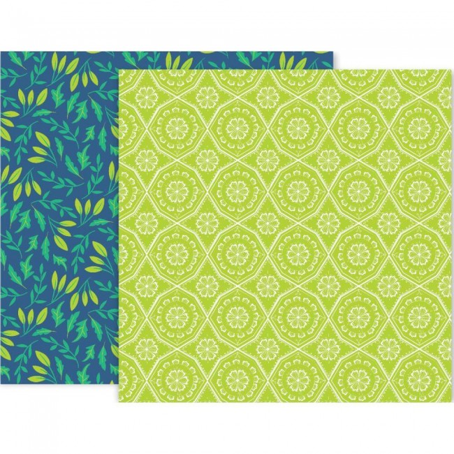 Papel Estampado Doble Cara 12x12 Horizon #10