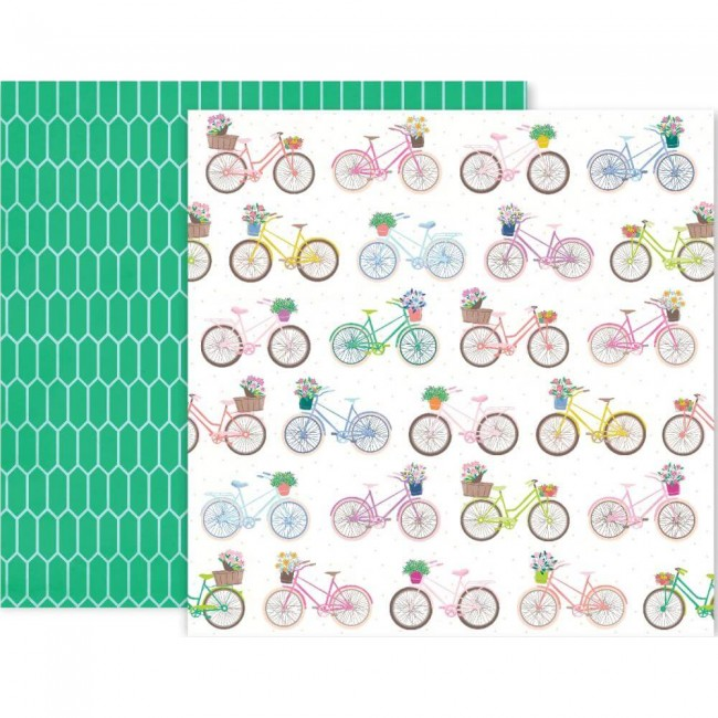 Papel Estampado Doble Cara 12x12 Horizon #13