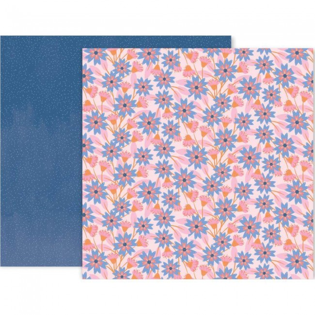 Papel Estampado Doble Cara 12x12 Horizon #16