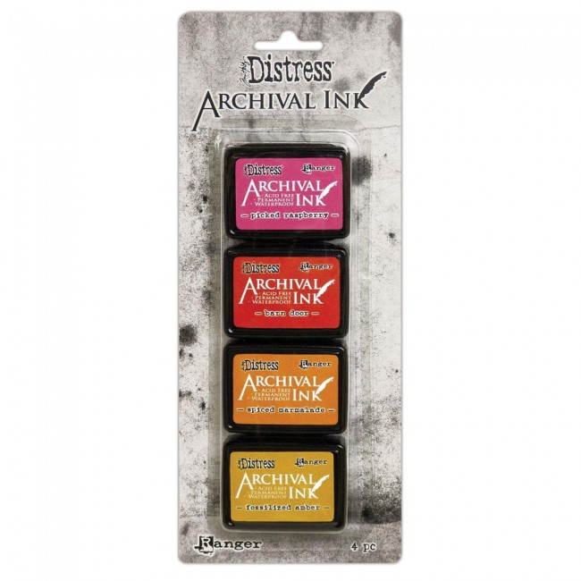 Kit Tinta Mini Archival Ink Distress Kit 2