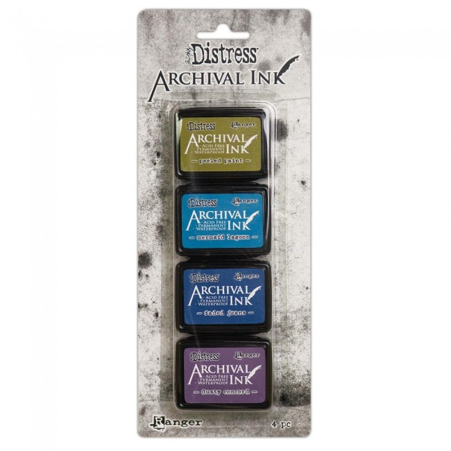 Kit Tinta Mini Archival Ink Distress Kit 1
