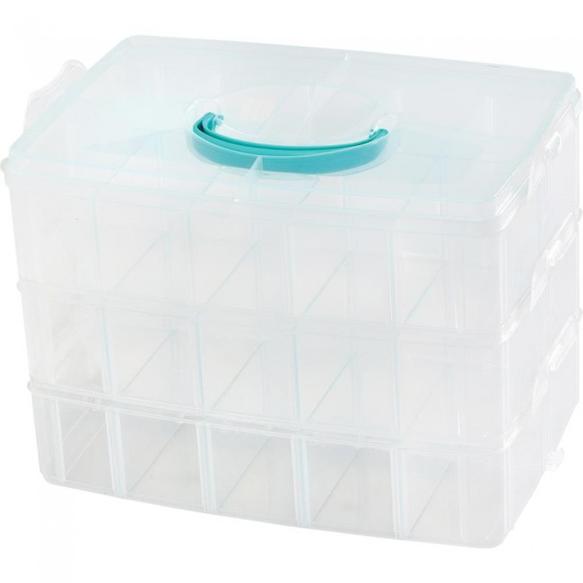 Caja organizadora 3 Tier Snap Box